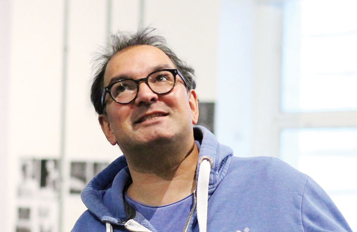 Julius d'Silva in rehearsals for The Producers. Photo: Anneka Morley