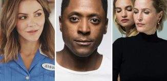 Katharine McPhee in Waitress, Matt Henry, who will star in One Night in Miami... and Lily James and Gillian Anderson who will star in All About Eve (Photo: Perou)
