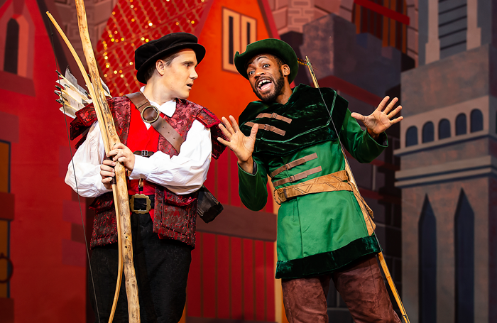 Robin Hood and the Babes in the Wood at Nottingham Playhouse. Photo: Pamela Raith