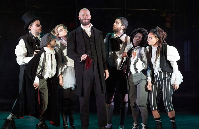 A scene from A Christmas Carol at Bristol Old Vic. Photo: Geraint Lewis