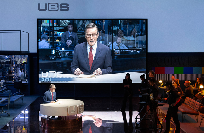 Bryan Cranston in Network. Photo: Jan Versweyveld