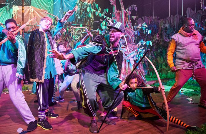 Image result for robin hood the arrow of destiny, theatre peckham