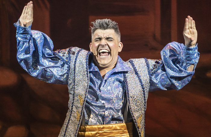 Aladdin review at Orchard Theatre, Dartford – 'action-packed