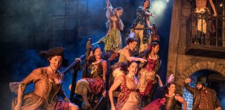 A scene from Les Miserables at Bord Gais Energy Theatre, Dublin