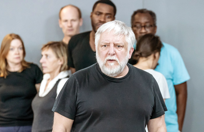 Simon Russell Beale in rehearsals for The Tragedy of Richard the Second. Photo: Marc Brenner