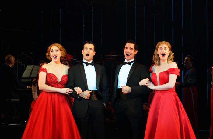 A Joyous Christmas Cast.White Christmas Review At Leicester Curve Faultlessly