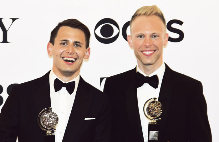 Pasek and Paul's Dear Evan Hansen was named best musical at the Tony Awards 2017. Photo: Shutterstock