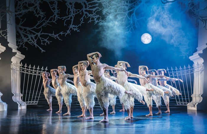 Matthew Bourne's Swan Lake. Photo: Johan Persson