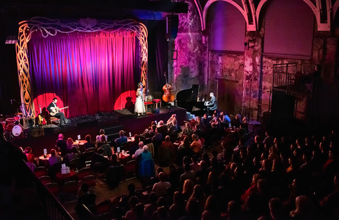 The jazz-styled restaging plays at Battersea Arts Centre until December 30