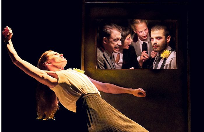 Gecko's The Wedding will be performed in the Barbican theatre during the festival. Photo: Richard Haughton