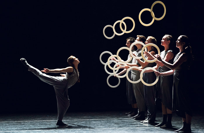 Gandini Juggling's Spring will be at Sadler's Wells during the festival. Photo: Thomas Bowles