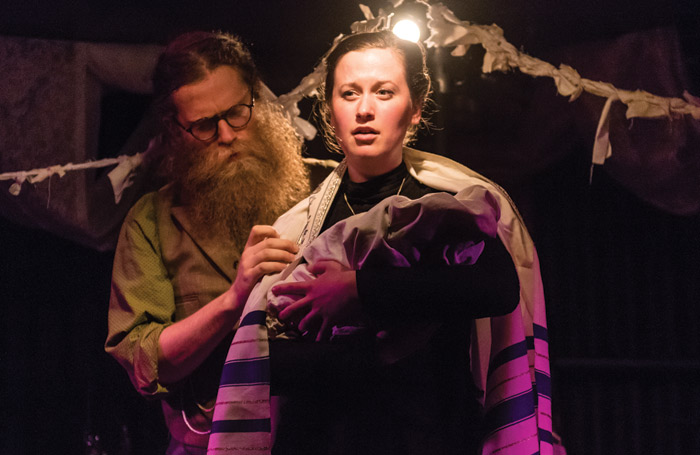 Ben Caplan and Mary Fay Coady in Old Stock: A Refugee Love Story. Photo: Stoo Metz Photography