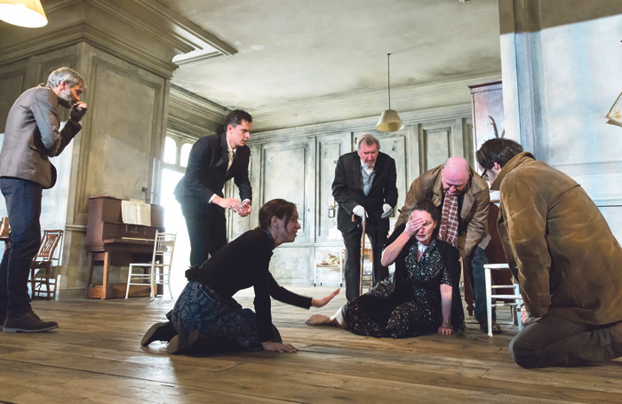 The Cherry Orchard, directed by Katie Mitchell, at the Young Vic in 2014. Photo: Stephen Cummiskey