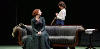 Stephanie Corley and Katie Bray in Katya Kabanova at Leeds Grand Theatre. Photo: Jane Hobson