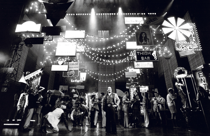 Miss Saigon at London's Theatre Royal Drury Lane (1989-99). Photo: MIchael Le Poer Trench