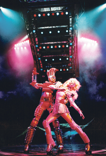 Starlight Express ran at London's Apollo Victoria until 2002. Photo: James Bareham