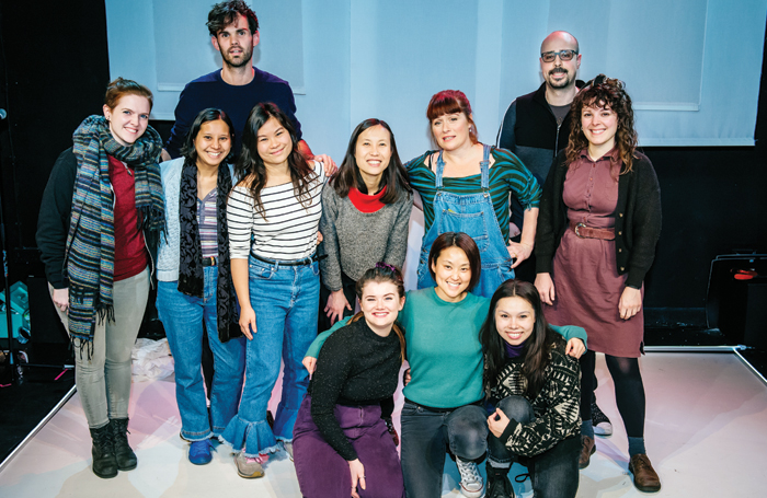 Back row: Keir Vine and Marco Savo. Middle: Zia Bergin-Holly, Jasmine Cullingford, Mei Mac, Paula So Man Siu, Bea Holland and Hannah Sibai. Bottom: Danielle Phillips, Jennifer Tang and Siu-See Hung. Photo: Ikin Yum Photography