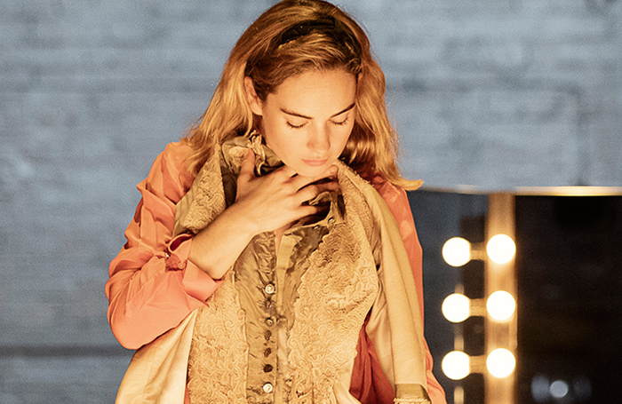 Lily James in All About Eve. Photo: Jan Versweyveld