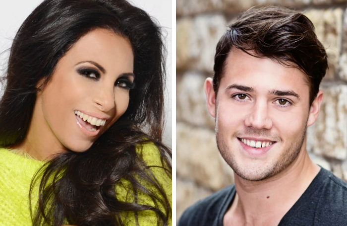 Francine Lewis and Ben James-Ellis