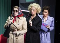 9 to 5 the Musical at Savoy Theatre, London. Photo: Pamela Raith