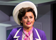 Amber Davies in 9 to 5 the Musical. Photo: Pamela Raith
