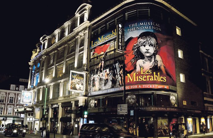 While long-running shows such as Les Misérables (above) are the mainstay of West End business, getting the ticket prices right for a new production can be very tricky. Photo: Shutterstock
