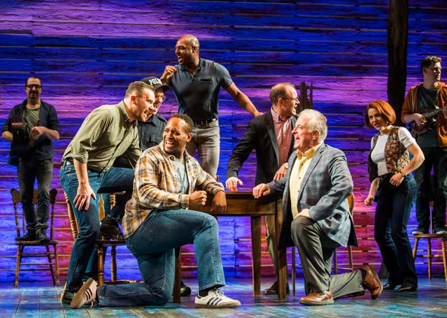 Come from Away at the Phoenix Theatre, London, which had more than 50 named producers. Photo: Tristram Kenton