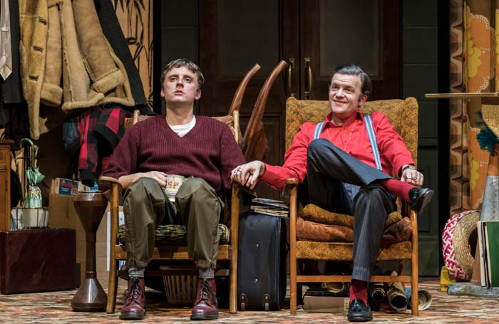 Ryan Hutton and Tom Bennett in Only Fools and Horses the Musical. Photo: Johan Persson