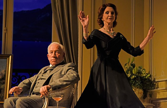 470e5486d500 A Song at Twilight review at Theatre Royal Bath –  Simon Callow and Jane  Asher star in a well-crafted revival