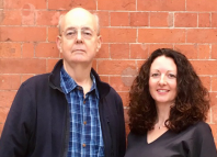 Playwrights David Edgar and Stephanie Dale, who will lead the course