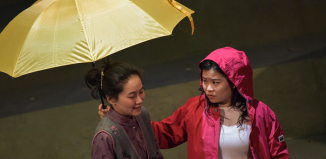 Charlotte Chiew and Mei Mac in Under the Umbrella. Photo: Robert Day