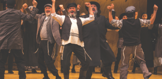 Fiddler on the Roof in Yiddish at Museum of Jewish Heritage. Photo: Victor Nechay/ProperPix