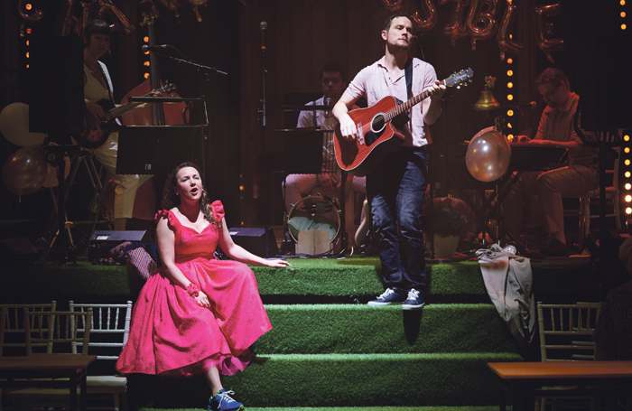 Midsummer was first performed at the Traverse in 2008 and has since become a hit at the Edinburgh Fringe and toured internationally. Photo: Peter Dibdin