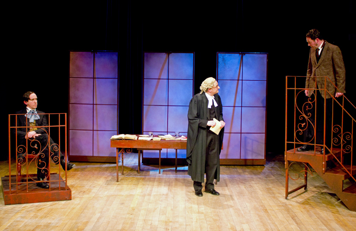 A scene from The Trials of Oscar Wilde. Photo: Emily Hyland
