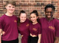 The Stage and Spirit Young Performers Company scholarship winners from 2018, from left: Billy Vale, Layla Armstrong-Hughes, Hannah Hutchins and Imaan Guthrie.