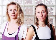 Sophie Melville and Erin Doherty, who will star in Wolfie at Theatre503, London. Photo: Helen Murray