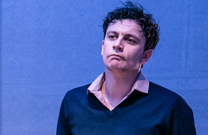 Tom Mothersdale in Dealing With Clair at the Orange Tree Theatre. Photo: The Other Richard
