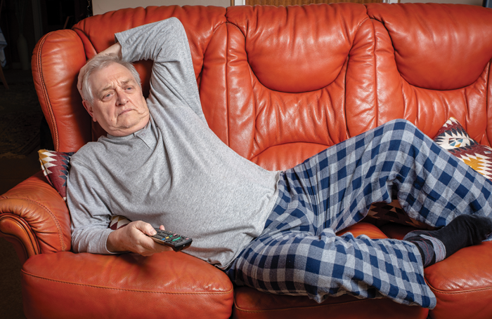 Our panel said being in their pyjamas at 10.30am was one of the advantages of being self-employed. Photo: Shutterstock