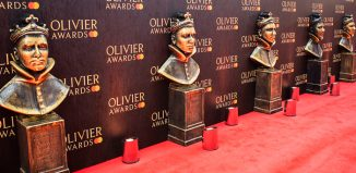 The Olivier Awards red carpet. Photo: Pamela Raith