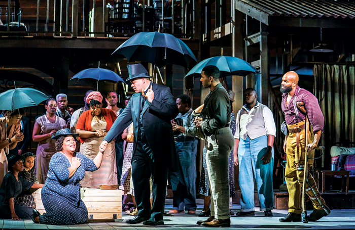 The cast of Porgy and Bess in 2018. Photo: Tristram Kenton