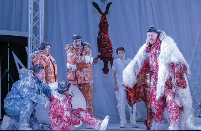 Scottish Opera staged the ambitious Anthropocene this year. Photo: James Glossop