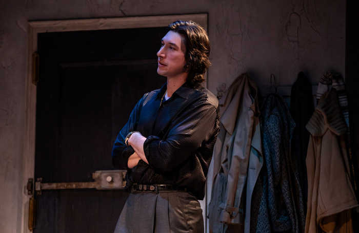 Burn This starring Adam Driver – review at Hudson Theatre, New York