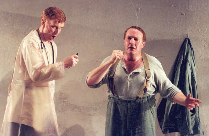 Wozzeck in 1996. Photo: Opera North