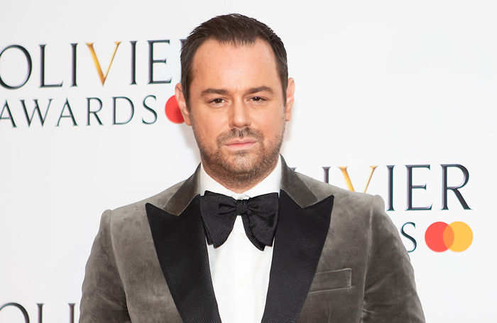 Danny Dyer at the Olivier Awards. Photo: Pamela Raith