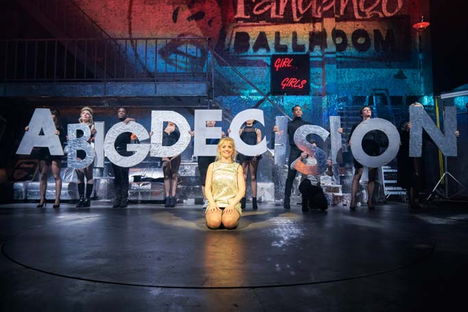 Anne-Marie Duff in Sweet Charity at the Donmar Warehouse. Photo: Johan Persson