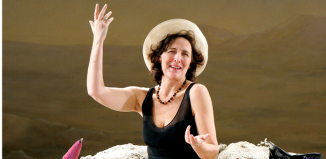 Fiona Shaw in Beckett's Happy Days in 2007. Photo: Tristram Kenton