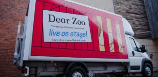 The Dear Zoo van prior to being stolen