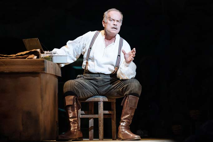 Kelsey Grammer in Man of La Mancha. Photo: Manuel Harlan