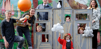 The launch of free theatre in schools across Scotland