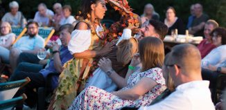 Open Bar Theatre performs A Midsummer Night's Dream. Photo: L H Photoshots